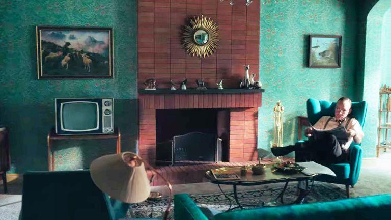 《后翼棄兵》劇中空間的視覺美學也很考究。 圖/Netflix