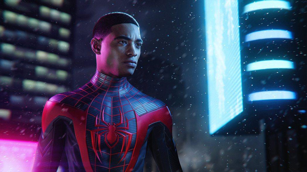 PS4/PS5的遊戲《漫威蜘蛛人:邁爾斯摩拉斯》的邁爾斯