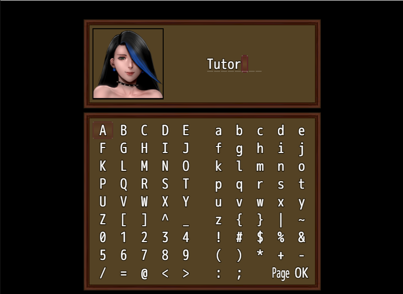 她與主角的預設關係是「家教」,不過當然玩家可以換成更刺激的關係。