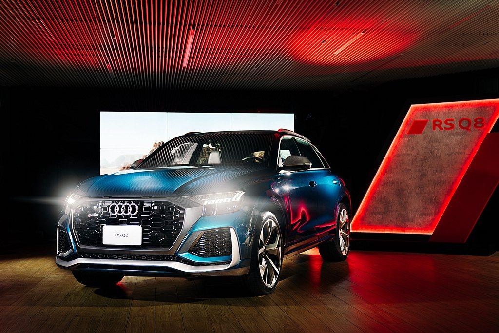 Audi RS Q8不僅首度登台亮相,台灣奧迪更帶來Audi e-tron Sp...