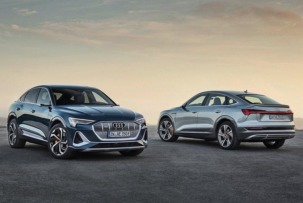 Audi e-tron Sportback自9月底持續開放預售中,Audi e-...