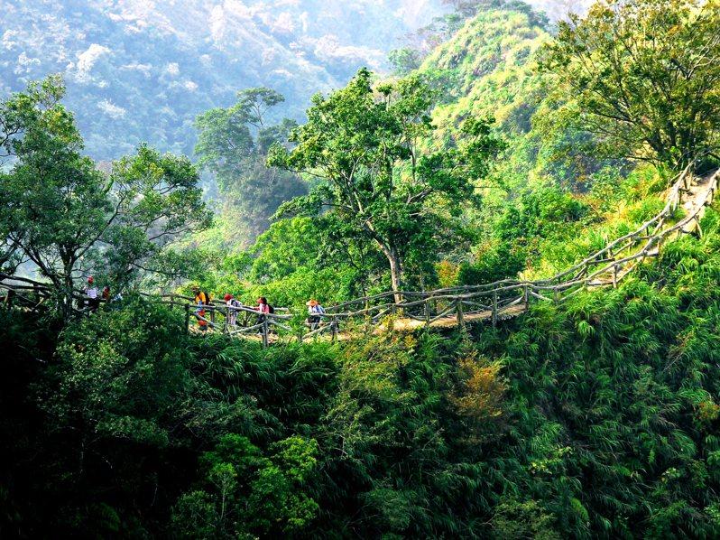 大坑12條登山步道是台中知名登山景點,每月湧入約22萬人次。圖/中市府觀旅局提供