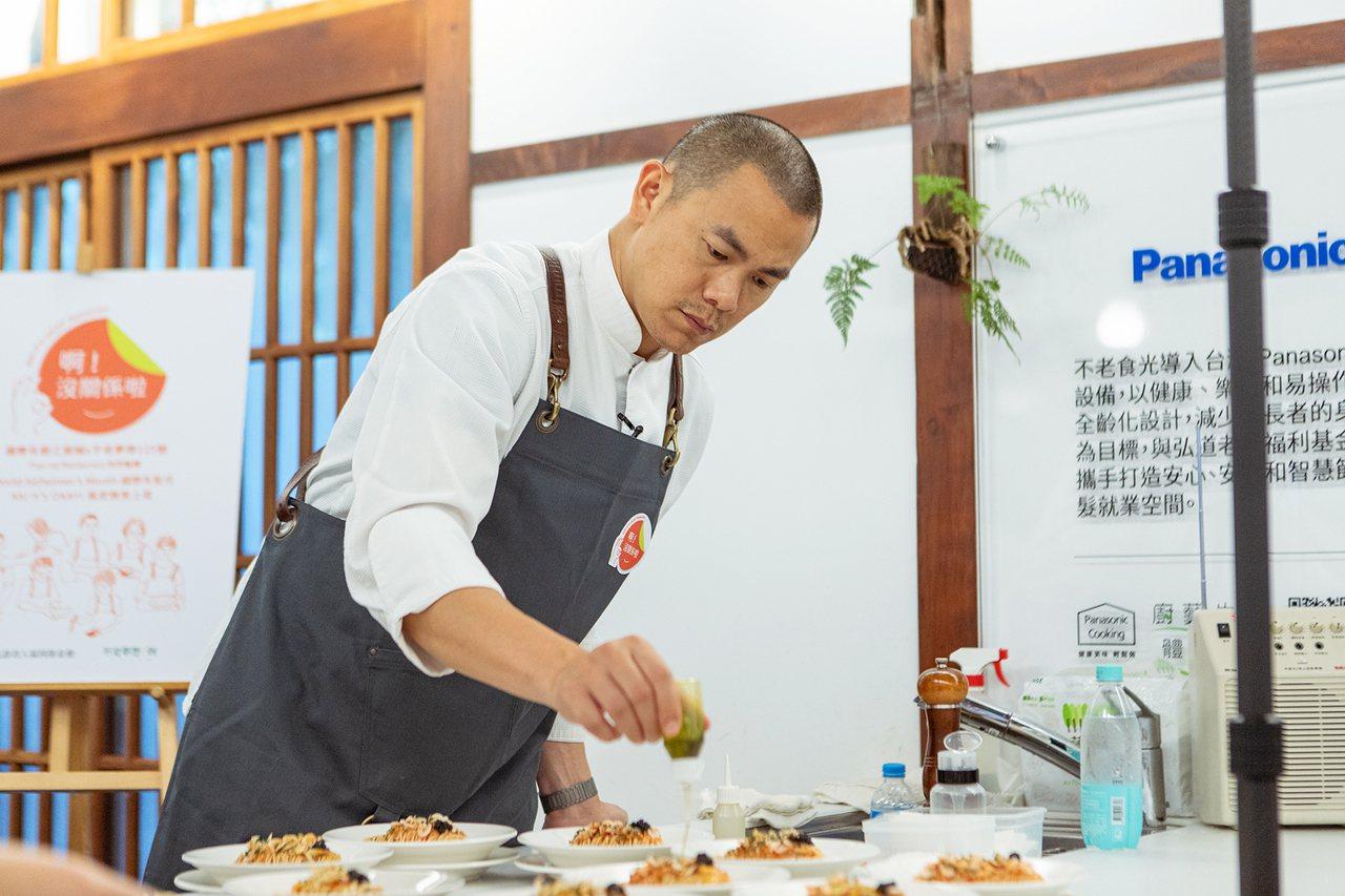投身臺灣飲食文化的教育研究與傳承是江振誠一輩子的志業。 攝影/江永釗