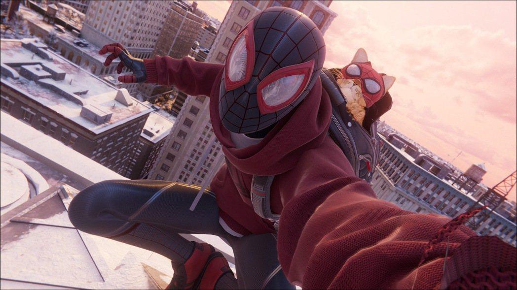 PS4/PS5的遊戲《漫威蜘蛛人:邁爾斯摩拉斯》的貓戰衣