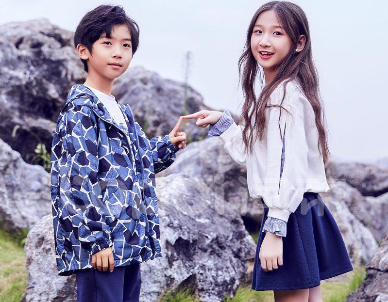 中國大陸十大童裝品牌之一淘帝相關服飾產品。淘帝/提供
