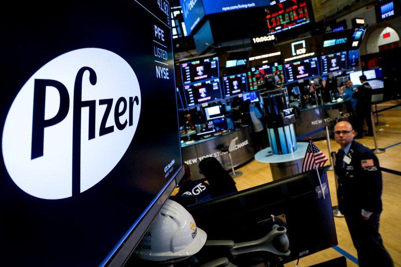 製藥業者輝瑞(Pfizer)宣布新冠疫苗有效性達90%,激勵美股大漲。(路透)