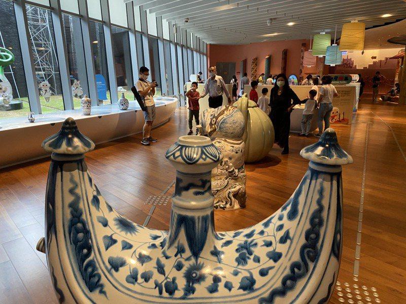 故宮南院的兒童創意中心是小型兒童博物館,在家長圈中是一值得參訪景點。記者陳雅玲/攝影