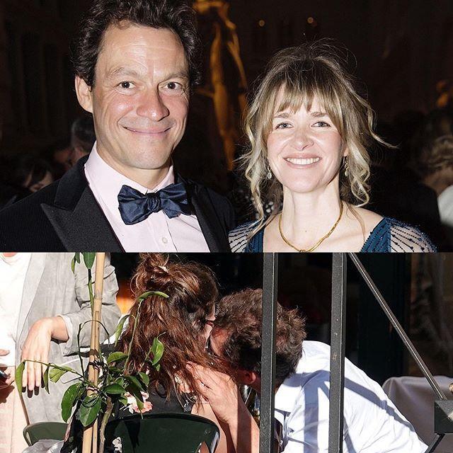 多明尼克魏斯特和妻子凱薩琳(上圖右)的婚姻恐因為羅馬激吻緋聞(下圖)而告終。圖/...