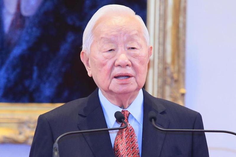 蔡英文總統宣布再次邀請台積電創辦人張忠謀(圖)代表她出席亞太經合會。記者潘俊宏/攝影