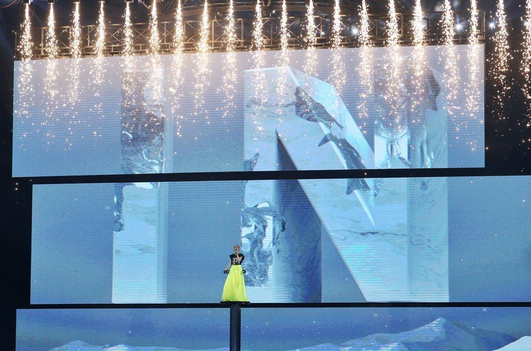 楊丞琳上周末連辦3場「LIKE A STAR」巡演。記者曾原信/攝影