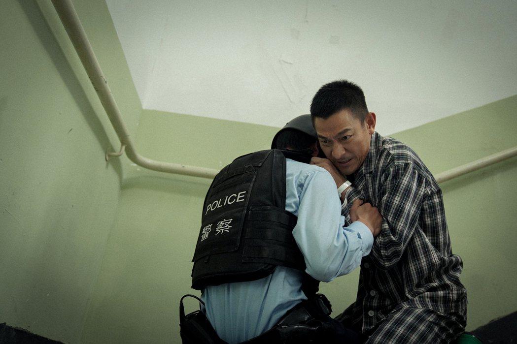 劉德華傷癒後再度挑戰動作場面。圖/華映提供