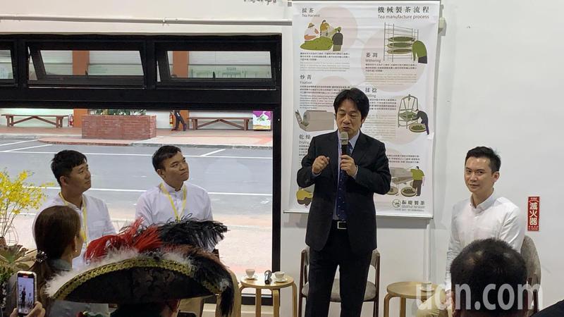 副總統賴清德表示地方青農及創生產業的發展,需要許多人的合作才能發揮價值。記者巫鴻瑋/攝影