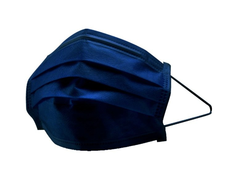 萊爾富將於11月12日限量推出新色「丹寧藍」炫彩醫療口罩,深藍色布紋呈現沉穩內斂...