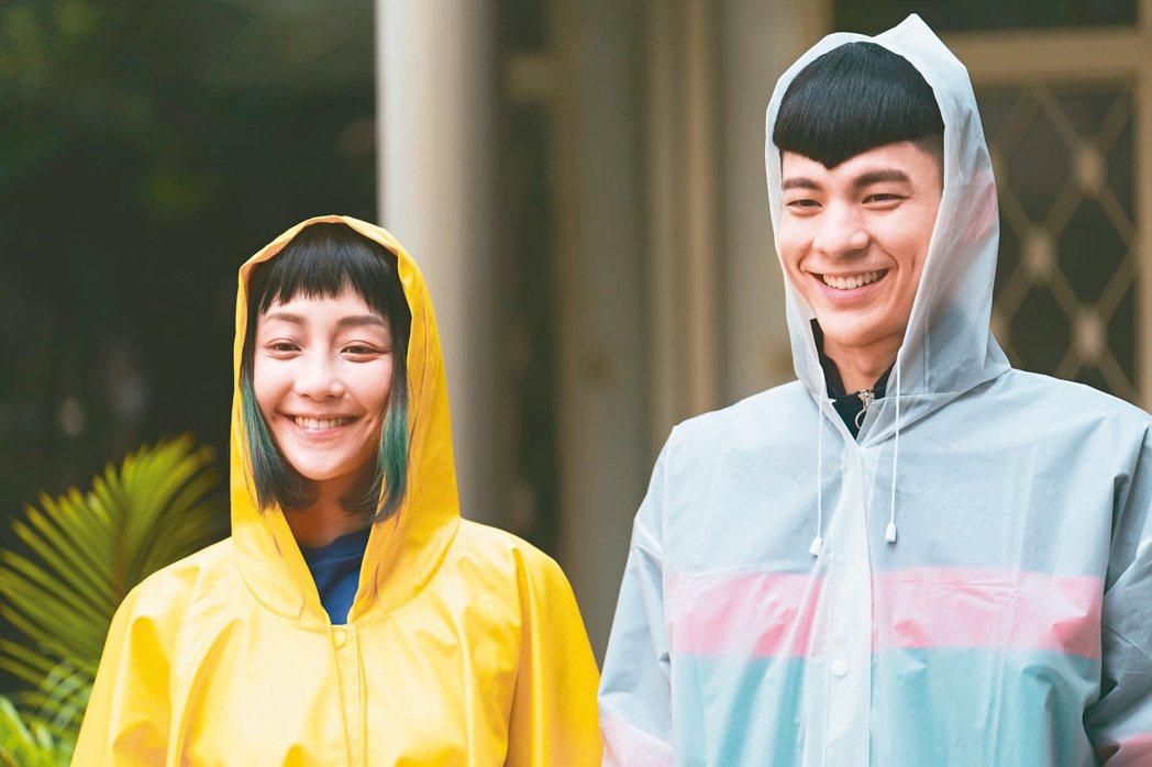「怪胎」謝欣穎(左)與林柏宏都曾獲金馬配角獎,今年轉戰主角獎。圖/牽猴子提供