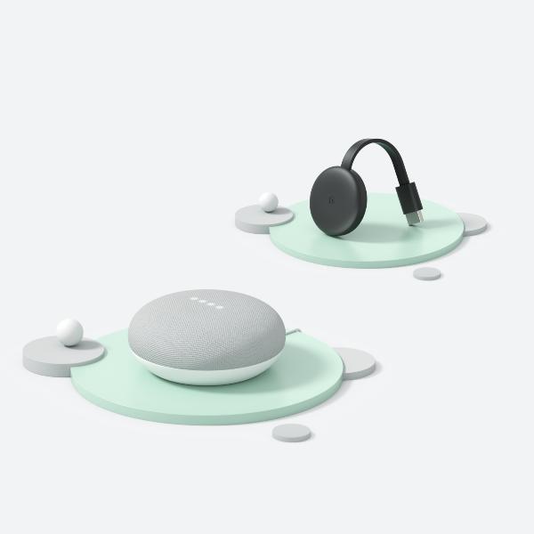 活動期間同時購買Nest Mini和Chromecast促銷組合現省750元。圖...
