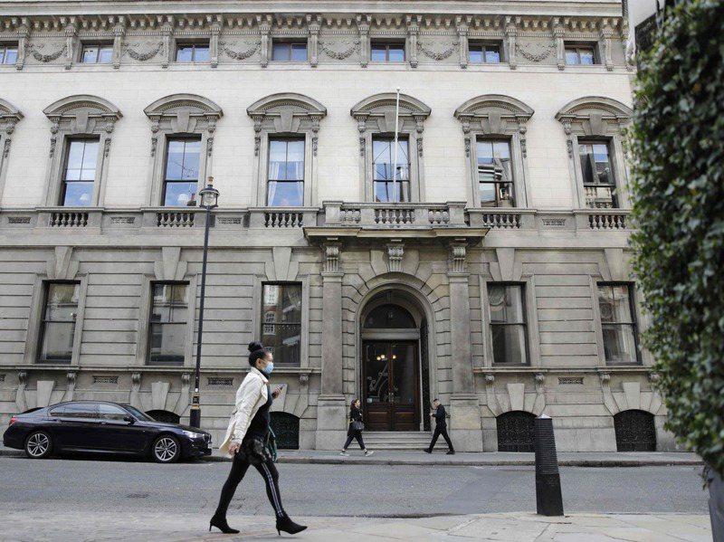 加利克紳士俱樂部在一八三一年成立,位於英國倫敦的柯芬園。法新社