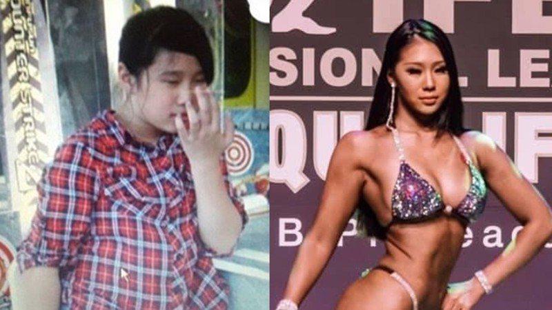 健美比賽冠軍蔡亭瑋,國小時曾因為體型過胖遭到霸凌。圖片由蔡亭瑋授權「有肌勵」刊登