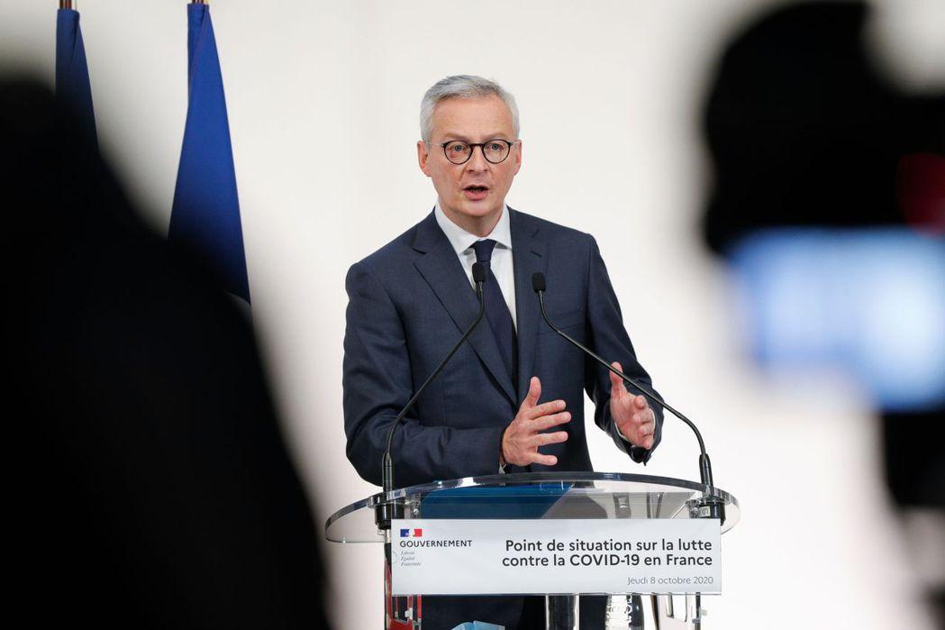 法國財經部長勒梅爾。 圖/法新社