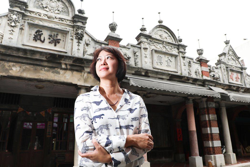劉真蓉對城市很有感覺。記者 吳致碩/攝影