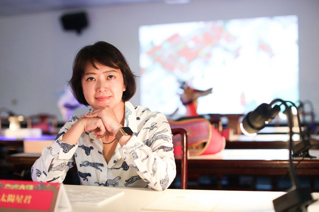劉真蓉以解題的心態,為每個任務提出架構。記者 吳致碩/攝影
