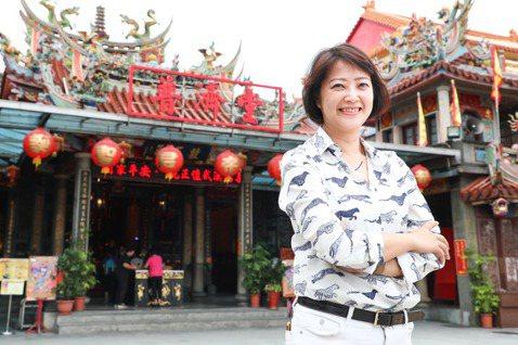 劉真蓉在「大溪大禧」強化在地情感。記者 吳致碩/攝影