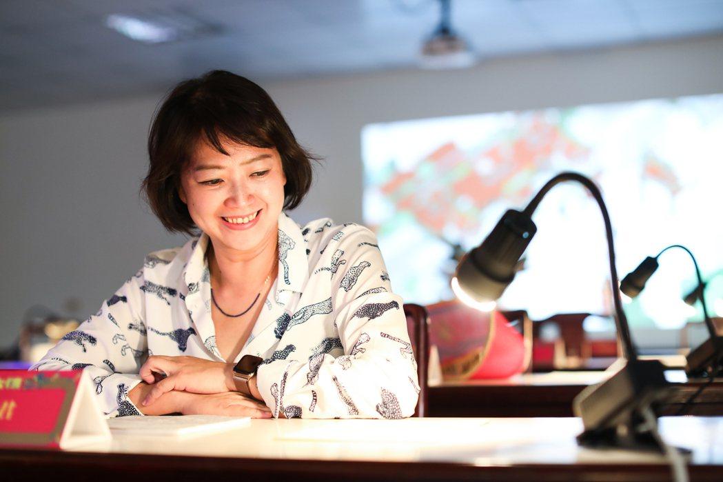 劉真蓉是近年在設計、策展圈裡的響亮名字。記者 吳致碩/攝影