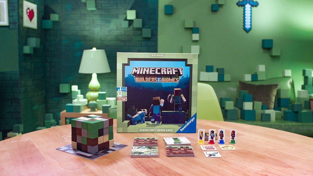 《當個創世神》延伸桌遊作品:《Minecraft Builders&Biomes...