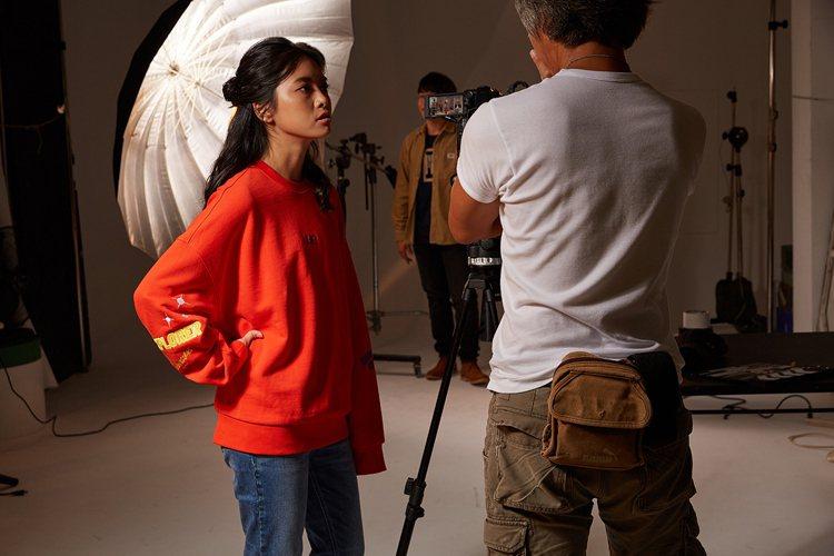 珈瑄年僅23歲就靠著拍攝影片短片入圍台北電影節。 圖/Lee 提供