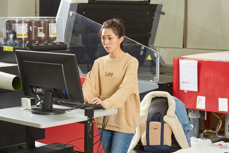 羿真是女演員也是印刷廠二代。 圖/Lee 提供