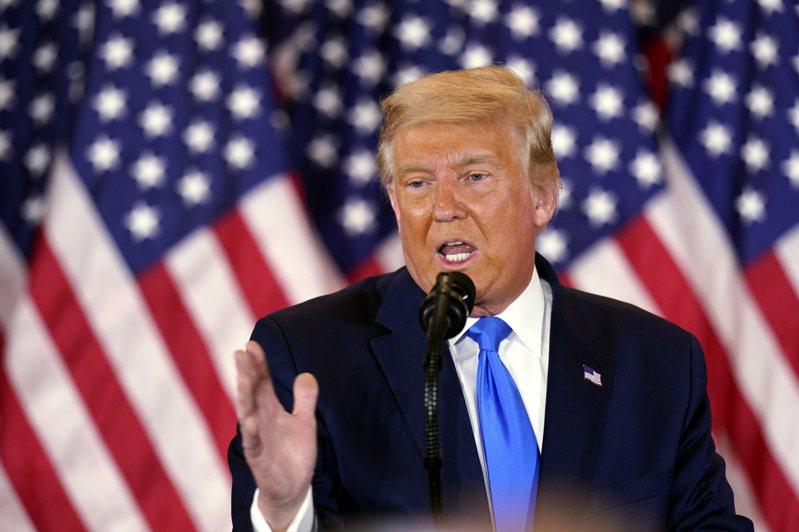川普拒絕承認拜登在美國總統大選獲勝。 歐新社