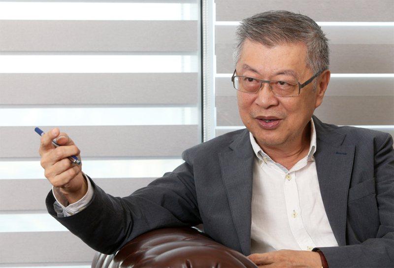 新世代金融基金會董事長陳冲。聯合報系資料照/記者胡經周攝影