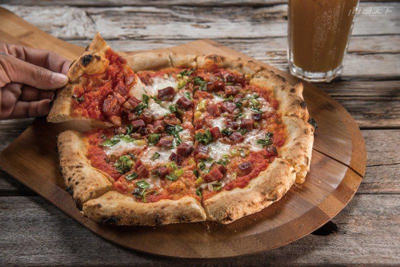 來空ㄟ農場,一定要一嚐有義大利披薩認證的Magliano窯烤Pizza。