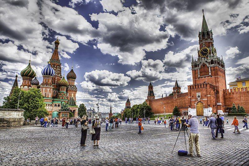 最有俄羅斯風情的莫斯科紅場在等你  / 來源:  wikimedia