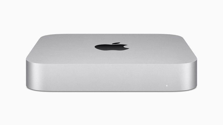 蘋果最新桌上型電腦主機Mac min。(歐新社)