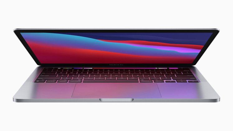 蘋果發表最新13吋MacBook Pro筆電產品。(歐新社)