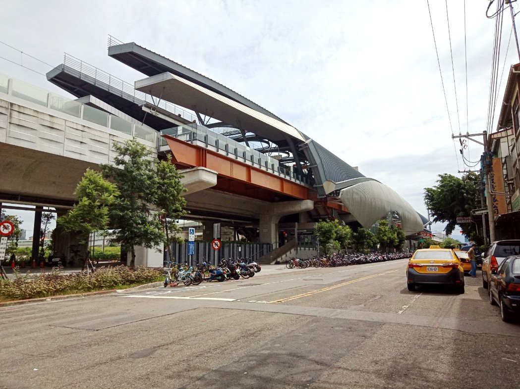 大慶站生活機能成熟,附近又有大學,帶動房市穩定成長。圖/永慶房產提供