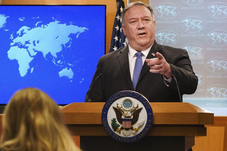 美國國務卿龐培歐10日對記者說,川普政府將平順轉移到第二任。美聯社