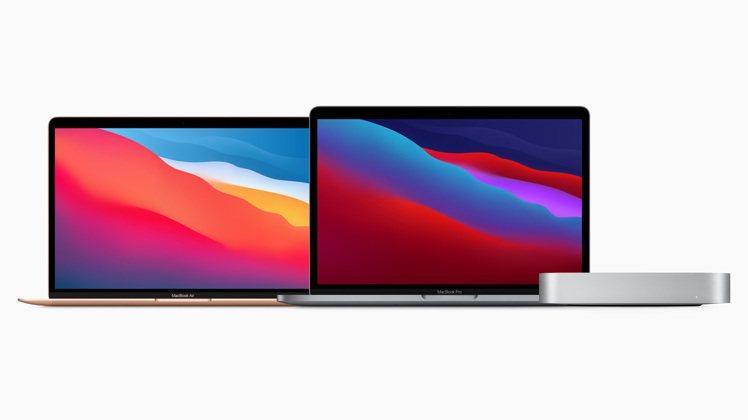 蘋果發表全新搭載M1晶片的MacBook Air、13吋MacBook Pro與...