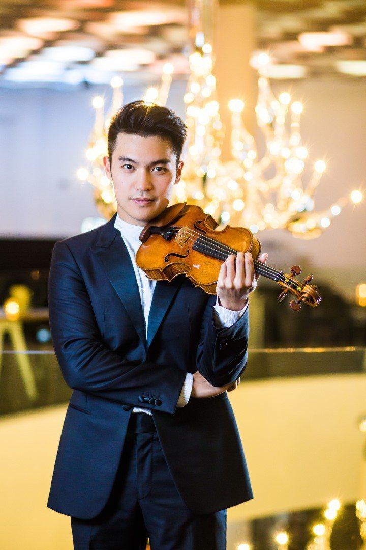 小提琴家陳銳擔任金馬表演嘉賓。圖/金馬執委會提供