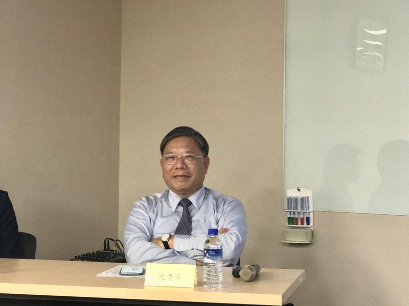 臻鼎董事長沈慶芳。記者尹慧中攝影