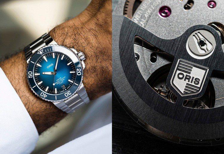 使用新款Calibre 400自動上鍊機芯的Aquis腕表,一旦於官方網站完成M...