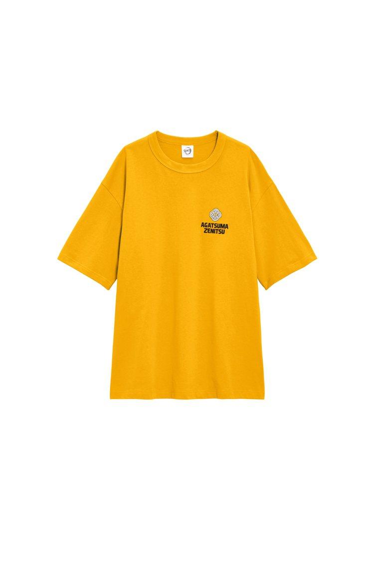GU鬼滅之刃聯名系列T恤590元。圖/GU提供