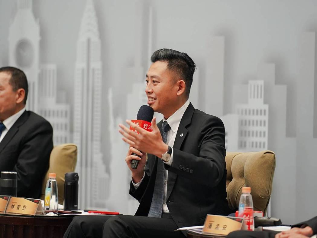 新竹市長林智堅出席「2020能源願景高峰論壇─綠能2.0」專題座談, 分享竹市家...