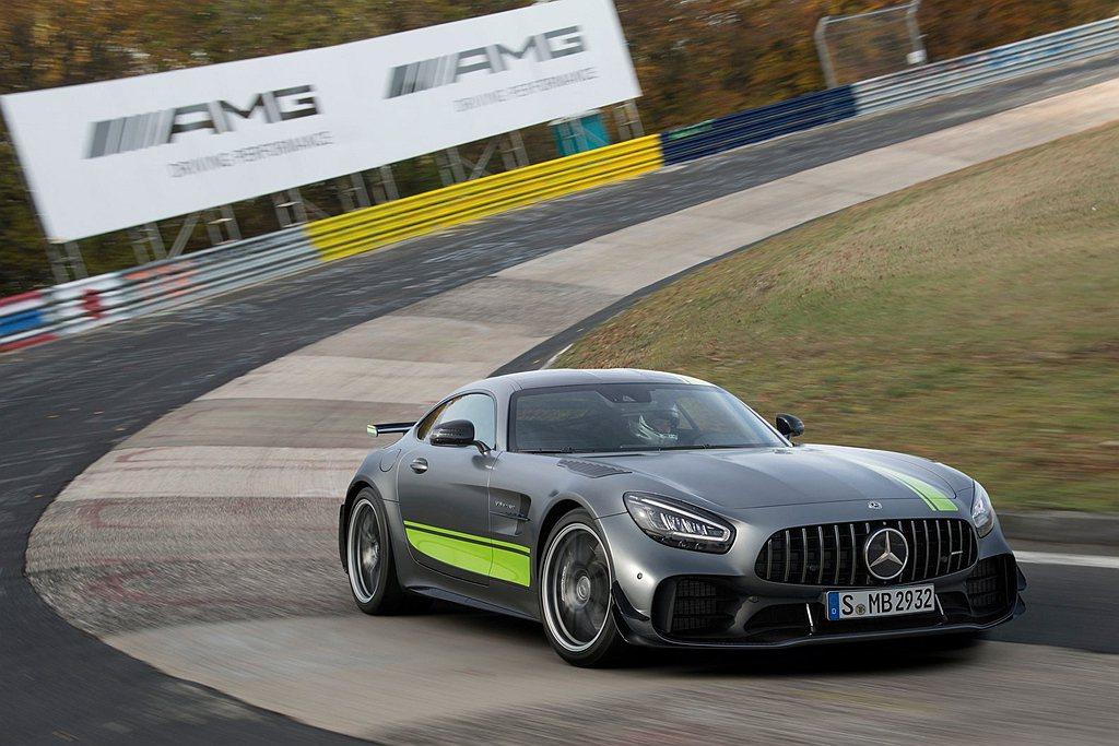 Mercedes-AMG GT R Pro及 Mercedes-AMG GT 4...
