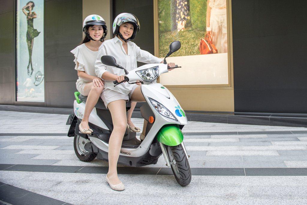 WeMo Scooter綠色共享交通願景持續發展,除台北市12個營運區域外,新北...