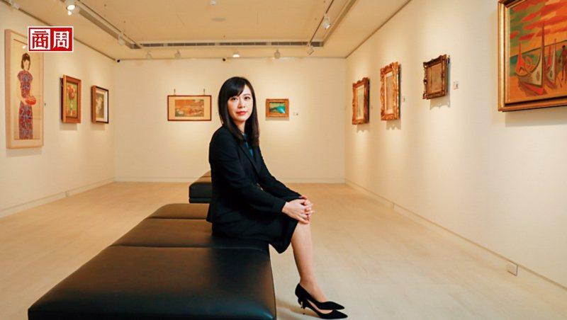 順益關係企業董事長林純姬承接父志,一肩扛起經營美術館的重責大任。(攝影者.陳宗怡)