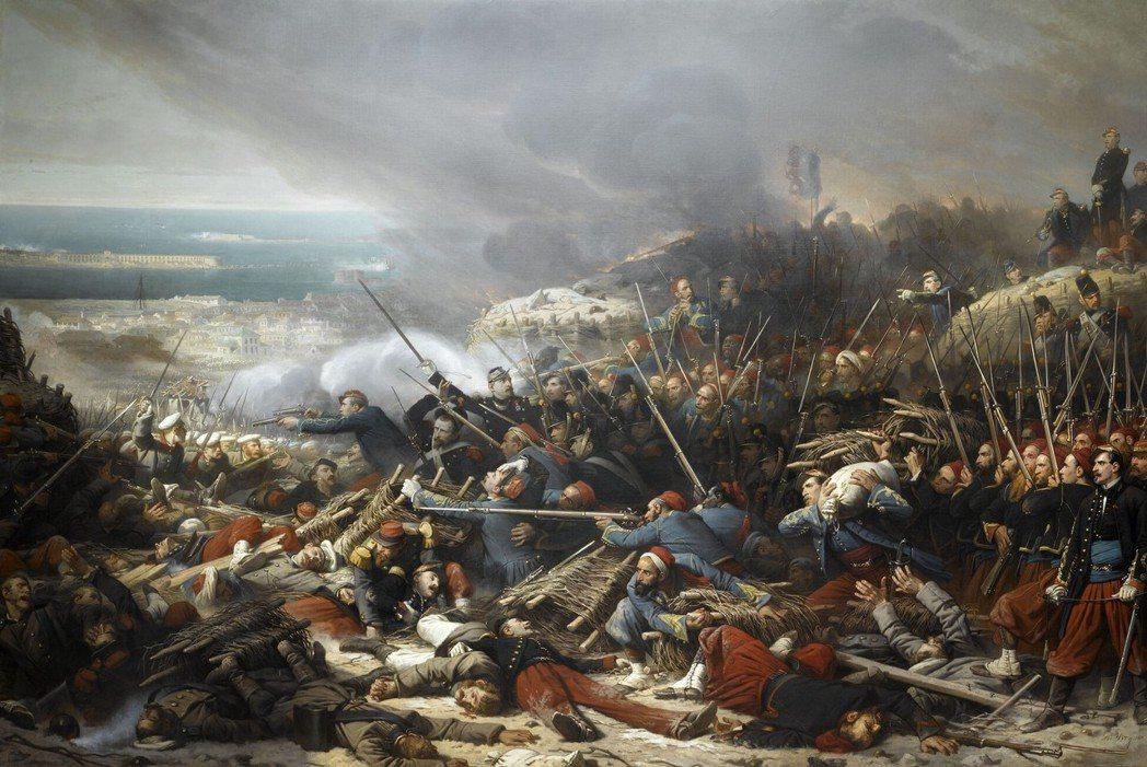 土耳其與法國的關係長年來時敵時友。1853年,克里米亞戰爭爆發。當時鄂圖曼帝國與...