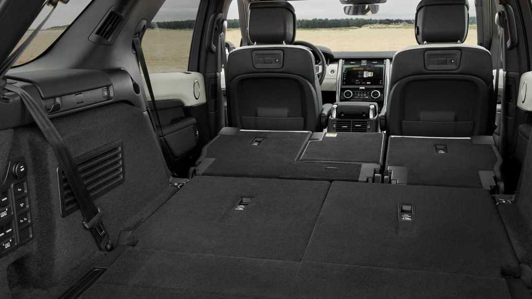 Discovery具有2,024L的強大容積。 圖/Land Rover提供