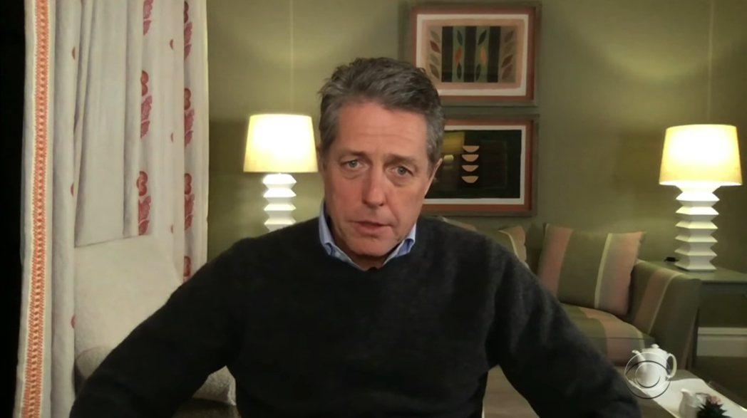 休葛蘭接受訪問時,自曝今年2月與妻子安娜雙雙感染新冠肺炎。 圖/擷自Youtub