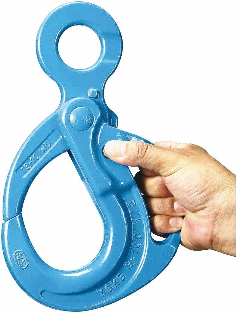 振鋒YOKE眼型握式自動鉤提高吊裝安全性,獲台灣精品獎肯定。 振鋒YOKE/提供